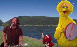 Dave Grohl, Big Bird, Elmo Travel America to Meet New Friends on 'Sesame Street'