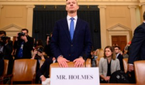 Watch David Holmes Place Trump at the Center of the Impeachment Scandal