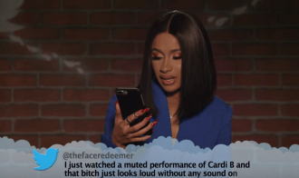 Watch Cardi B, Lizzo, Billie Eilish Read Mean Tweets on 'Kimmel'