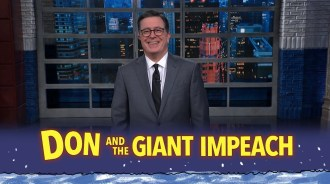 Colbert, Samantha Bee, More Break Down First Trump Impeachment Hearings