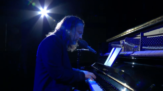 Watch Thom Yorke Perform 'Daily Battles' on 'Colbert'