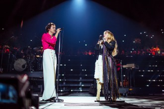 Harry Styles Celebrates 'Fine Line' Live With Sex, Swagger and Stevie Nicks