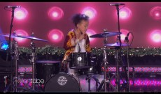 9-Year-Old Drummer Rocks Out to Nirvana's 'In Bloom' on 'Ellen'