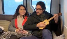 Tulsi Gabbard Pays Tribute to John Legend With Ukulele Cover of 'Imagine'