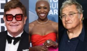 Elton John, Randy Newman, Cynthia Erivo to Perform at 2020 Oscars