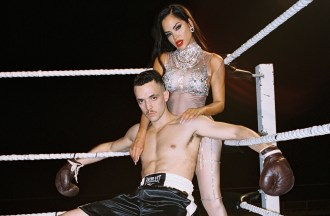 C. Tangana, Natti Natasha Star in Film Noir-Inspired 'Viene y Va' Video