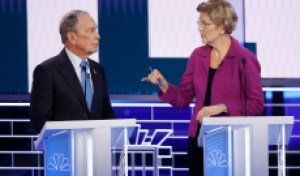 Elizabeth Warren Roasts Mike Bloomberg in Rowdy Las Vegas Debate