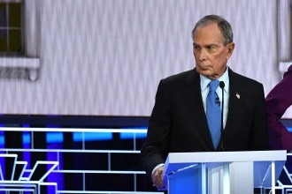 Bloomberg Aide Denies Campaign Bought Off Debate Crowd