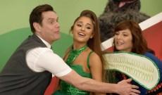 Ariana Grande Sings With Jim Carrey, Catherine Keener on 'Kidding'