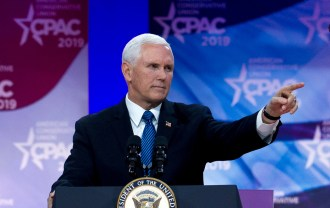 Pence Is Handling Coronavirus. But First, CPAC