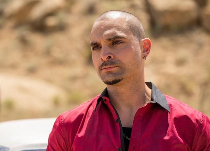 Michael Mando as Nacho Varga - Better Call Saul _ Season 5, episode 9 - Photo credit: Greg Lewis / AMC / Sony Pictures Television