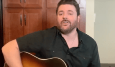 Chris Young Performs an Acoustic Cover of Joe Diffie's 'Pickup Man'