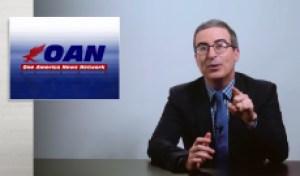 John Oliver Scrutinizes Donald Trump's Other Favorite News Network, OAN