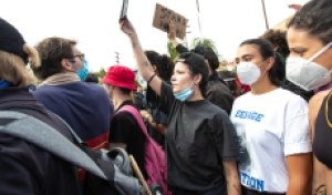 Halsey Details Police Encounter at Los Angeles George Floyd Protest