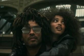 Lenny Kravitz Takes a Romantic Road Trip in 'Ride' Video