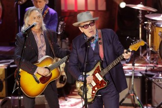 Elvis Costello Unveils Roiling New Song 'No Flag'