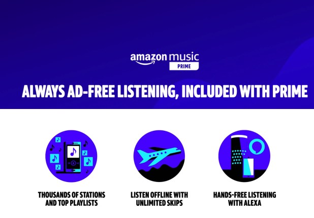 Gadgets: Amazon Prime Music Streaming Service