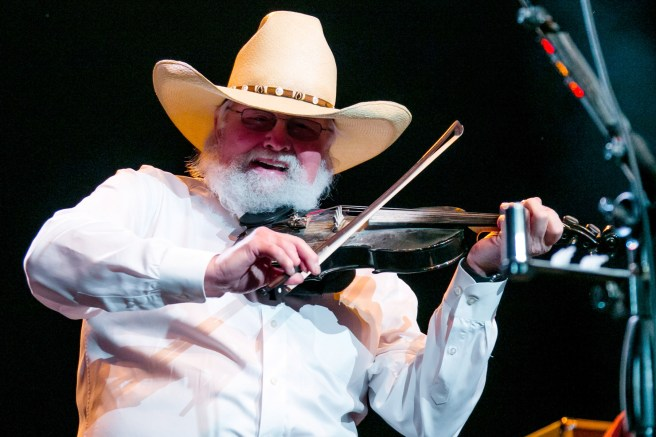 Charlie Daniels of the Charlie Daniels Band performs at Freedom Hill Amphitheater on June 18, 2015 in Sterling Heights, Michigan.