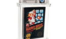 Sealed Copy of 'Super Mario Bros.' Sells for $114,000 at Auction