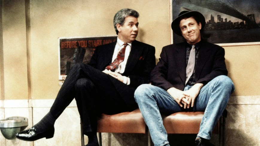 NIGHT COURT, (from left): John Larroquette, Harry Anderson, (1991), 1984-92. ©Warner Bros. Television / Courtesy: Everett Collection.