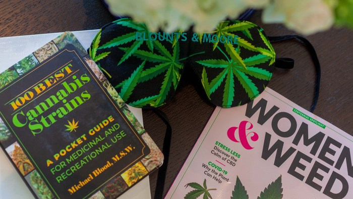 blounts and moore cannabis women