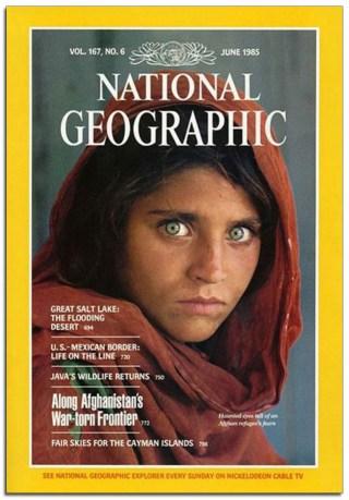 "la ""Ragazza Afgana"" di Steve McCurry  Bigfototaranto"