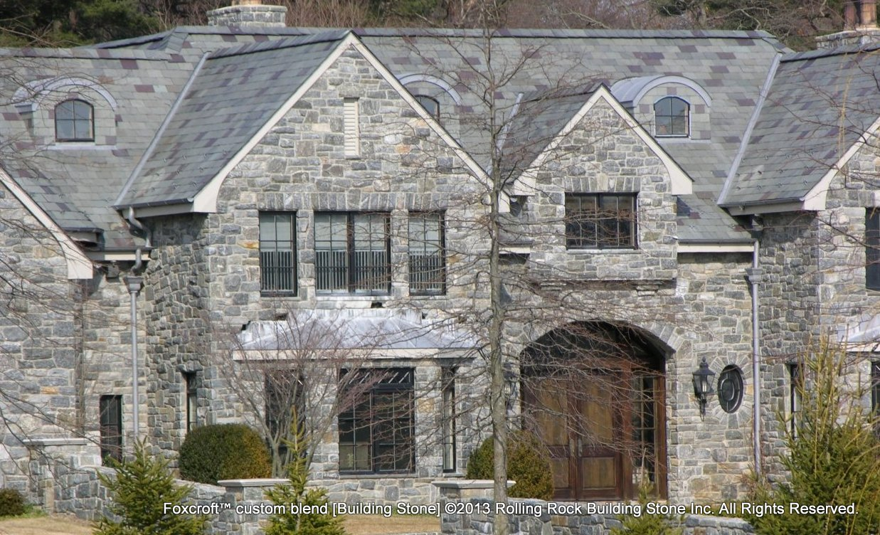Natural Stone Construction : Foxcroft™ rolling rock building stone inc