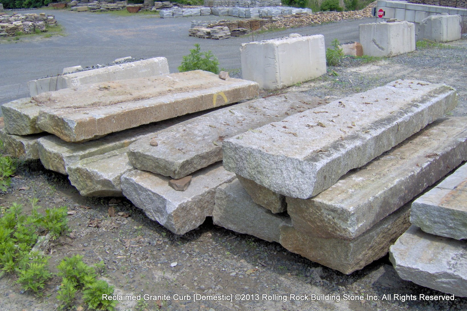 Reclaimed Granite Curb | Rolling Rock Building Stone, Inc