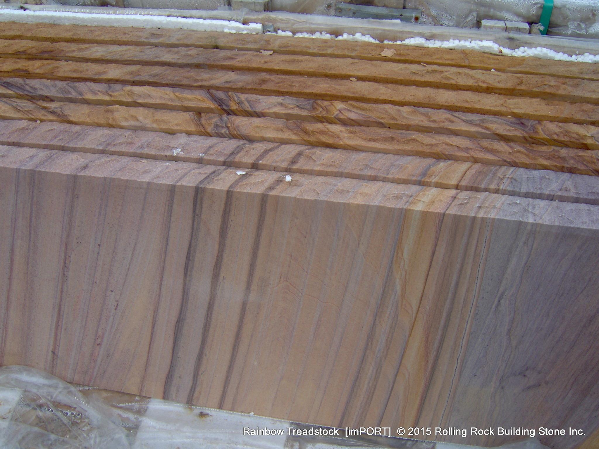 Rainbow Natural Stone : Rolling rock building stone inc rainbow u