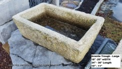 Granite Trough-Lg.