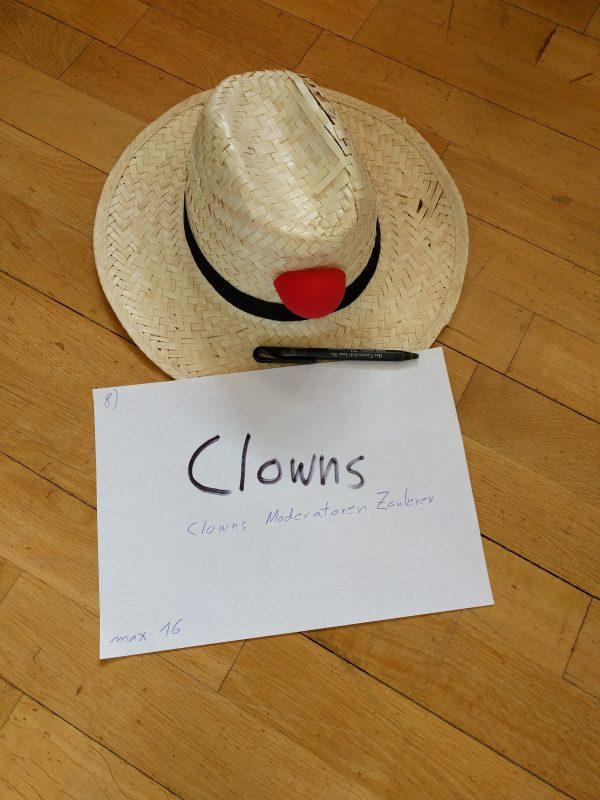Clownshut auf der Zirkuswoche 2017