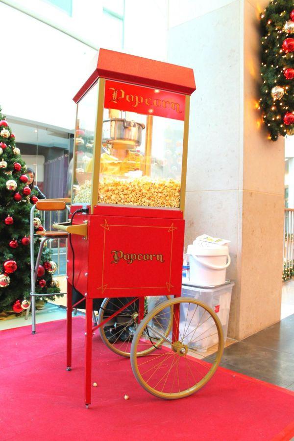 Popcornmaschine mit Wagen