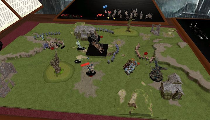 Tabletop simulator screenshot AOSigmar