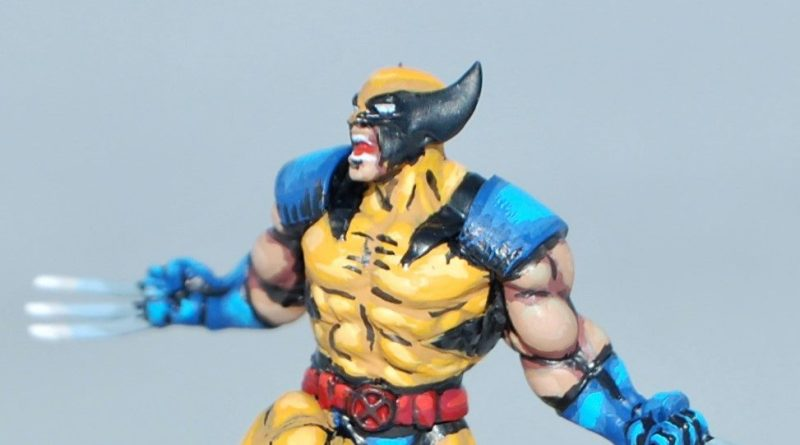 wolverne comic book style marvel crisis protocol