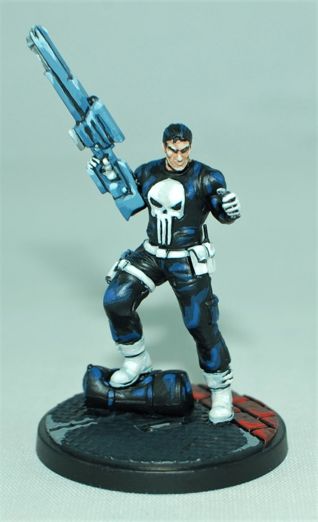 marvel the punisher comic style crisis