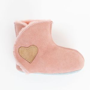 Rolly vrtcevski copati baby winter boots pink za dojencke