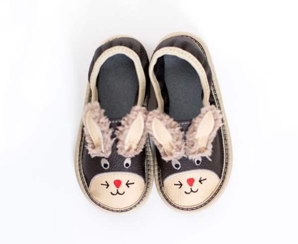 Toddler bunny rolly copatki za vrtec malcki