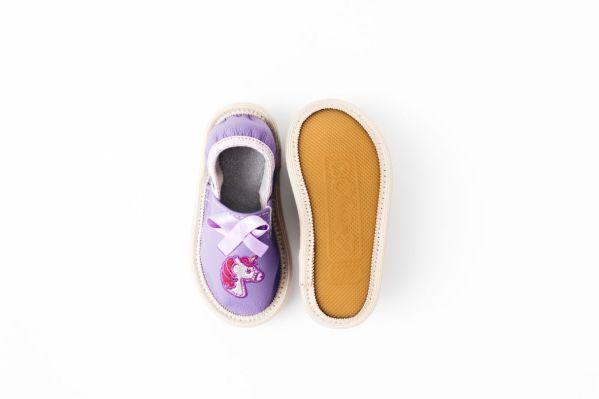 Toddler unicorn rolly kindergarten slippers nonslip outsole