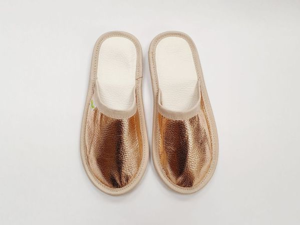 Rolly adult slippers home slippers rose gold