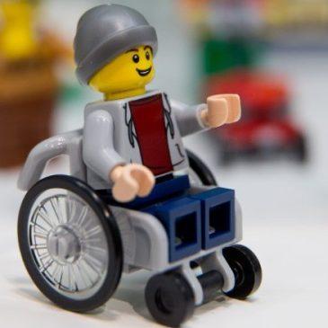 Lego rolstoel