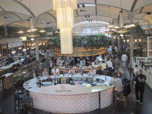 de luchthaven van Barcelona