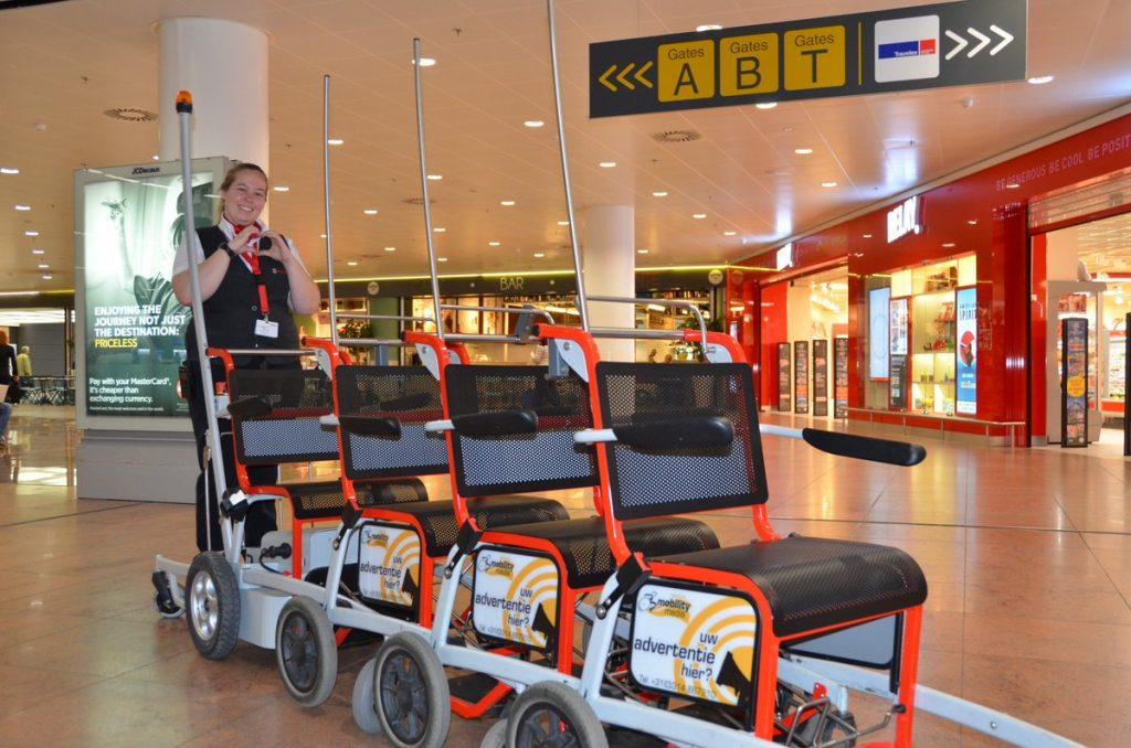 Love airport wheelchairs