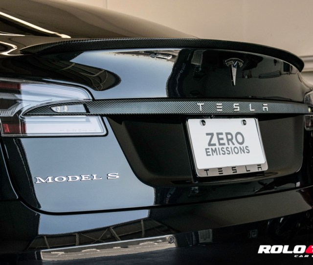 Tesla Model S Pd Chrome Blackout