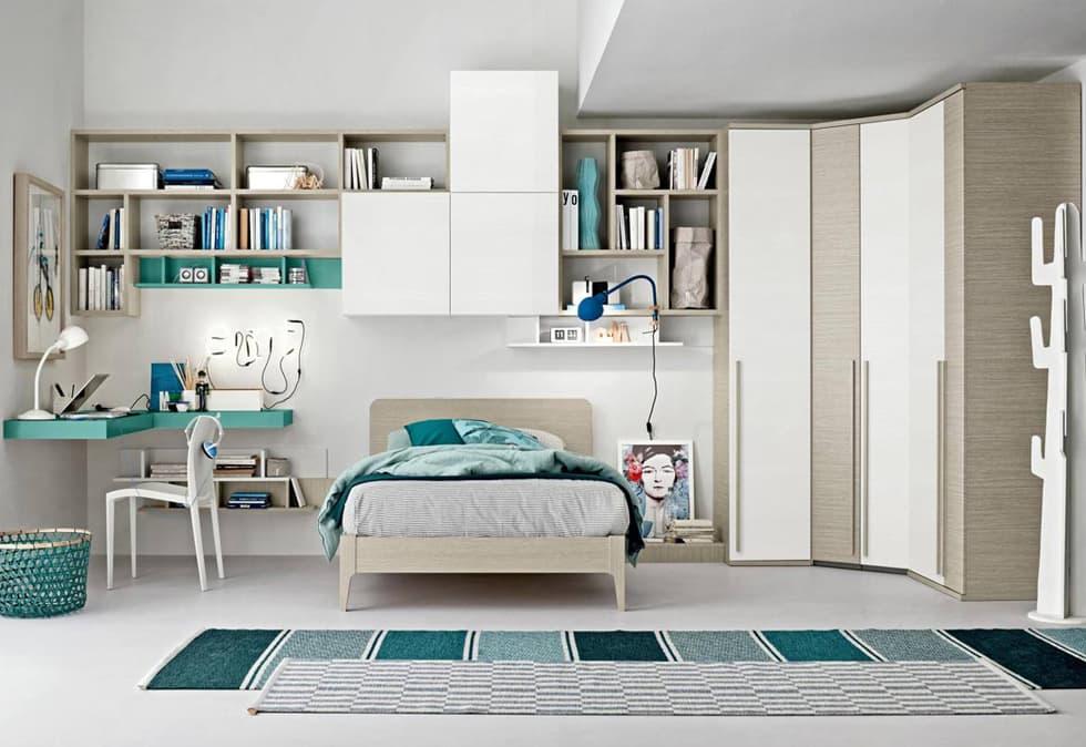 Guardaroba e armadi che reinventano lo spazio della camera da letto. Camerette Per Bambini Con Ponte Su Misura Roma Roma Arredamenti