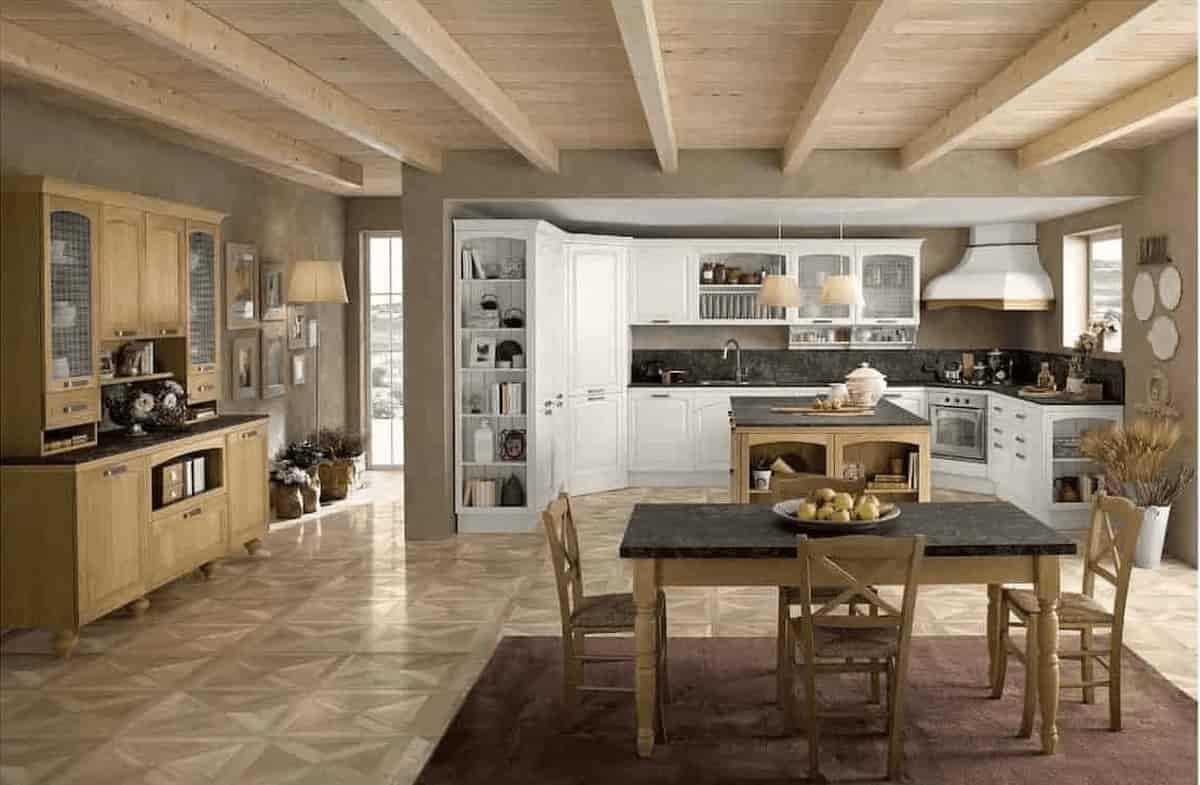 Come arredare soggiorno e cucina insieme per creare un ambiente unico o un piccolo open space. Cucina Con Soggiorno Roma Roma Arredamenti