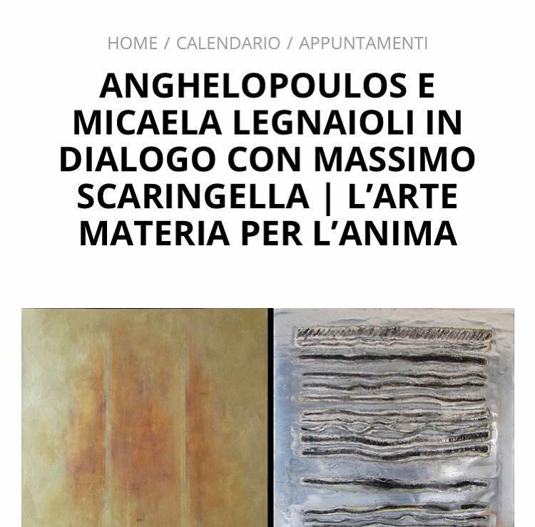 """Roma, al MACRO Asilo """"Autoritratto"""" con Anghelopoulos e Micaela Legnaioli"""