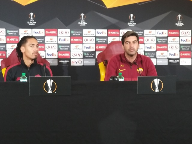 A.S.ROMA – KAA GENT: CONFERENZA STAMPA