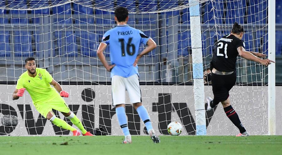 Lazio – Milan 0-3 – La Lazio perde in casa e si allontana dalla vetta.