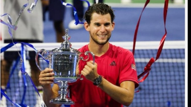 US Open di Tennis Primo Slam per l'austriaco Thiem.