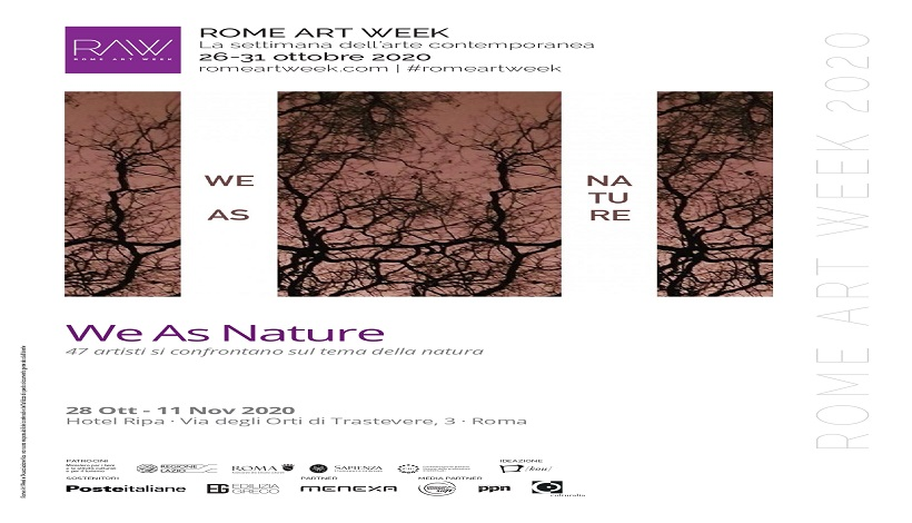 """Anghelopoulos con l'installazione """"Stazione di Posta- Riappropriazione"""" partecipa alla collettiva RAW """"We As Nature"""" al Ripa Palace Hotel"""